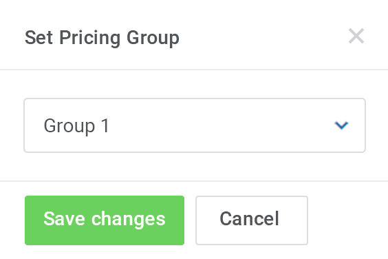Custom Pricing Group - AWS Billing For WHMCS by ModulesGarden