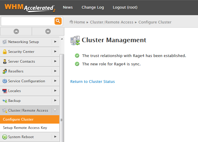 Rage4 For cPanel: Screen 3
