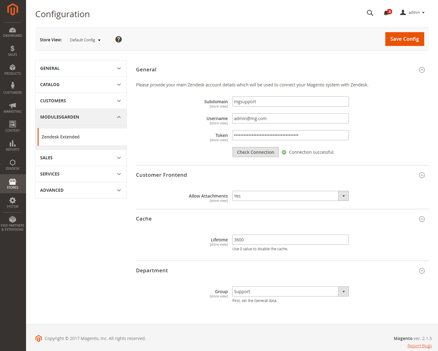 Zendesk Extended For Magento 2: Screen 11
