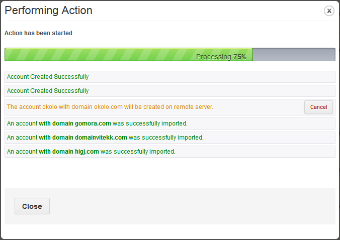 Account Synchronization For WHMCS: Screen 1