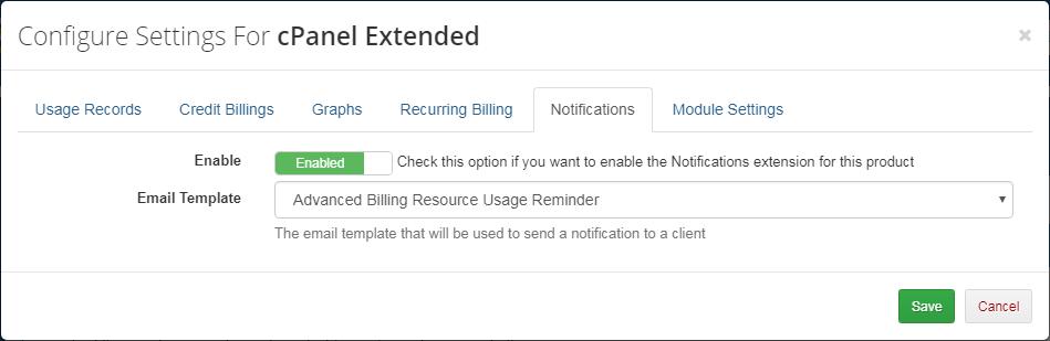 Advanced Billing For WHMCS: Screen 12