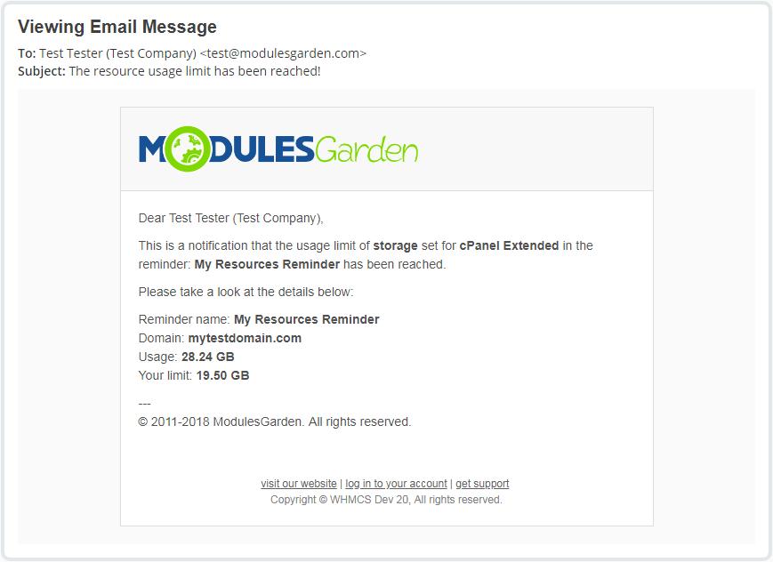 Advanced Billing For WHMCS: Module Screenshot 5