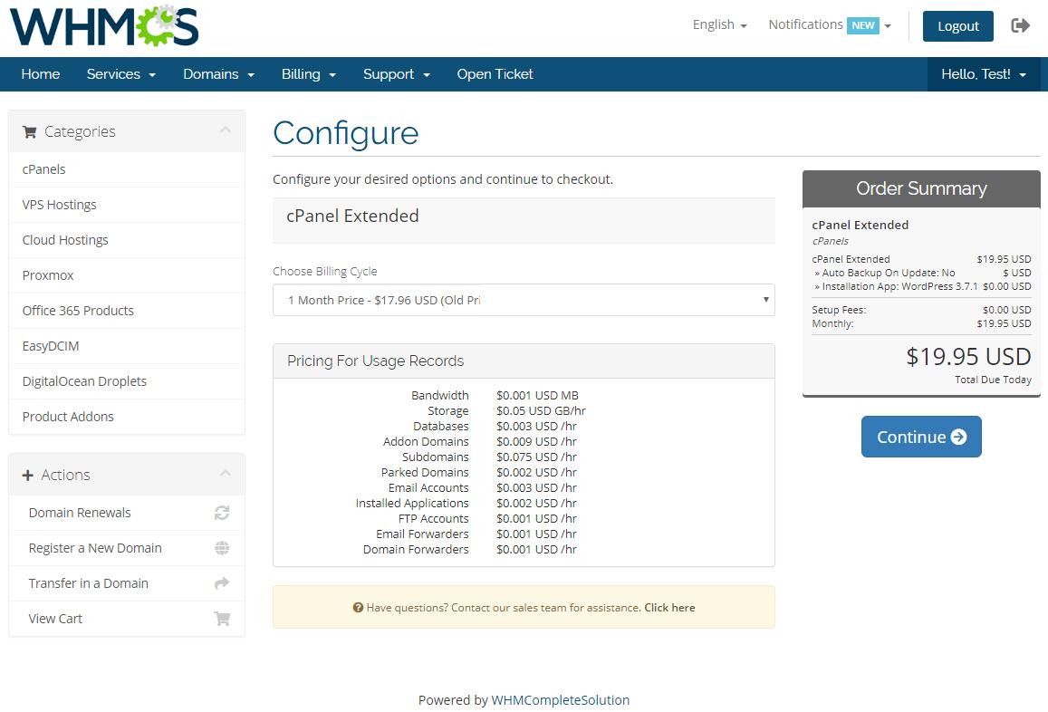 Advanced Billing For WHMCS: Module Screenshot 6