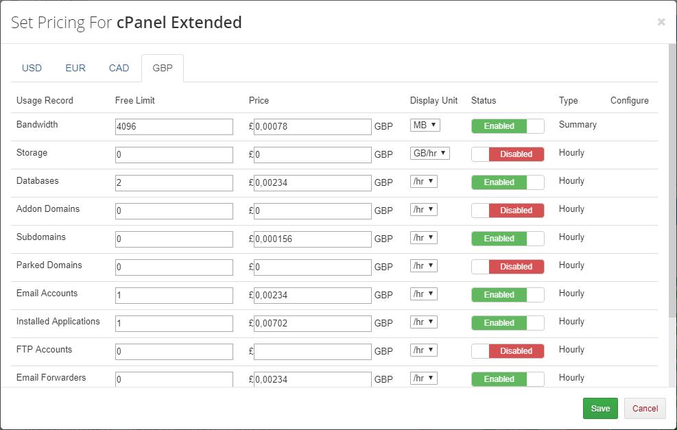 Advanced Billing For WHMCS: Module Screenshot 9