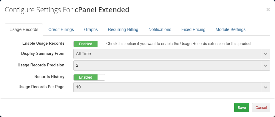 Advanced Billing For WHMCS: Module Screenshot 10