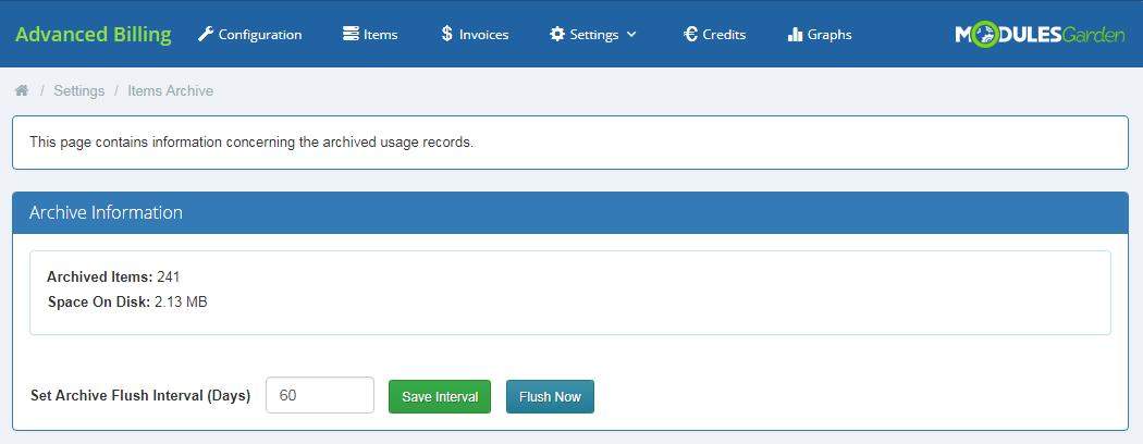 Advanced Billing For WHMCS: Module Screenshot 23