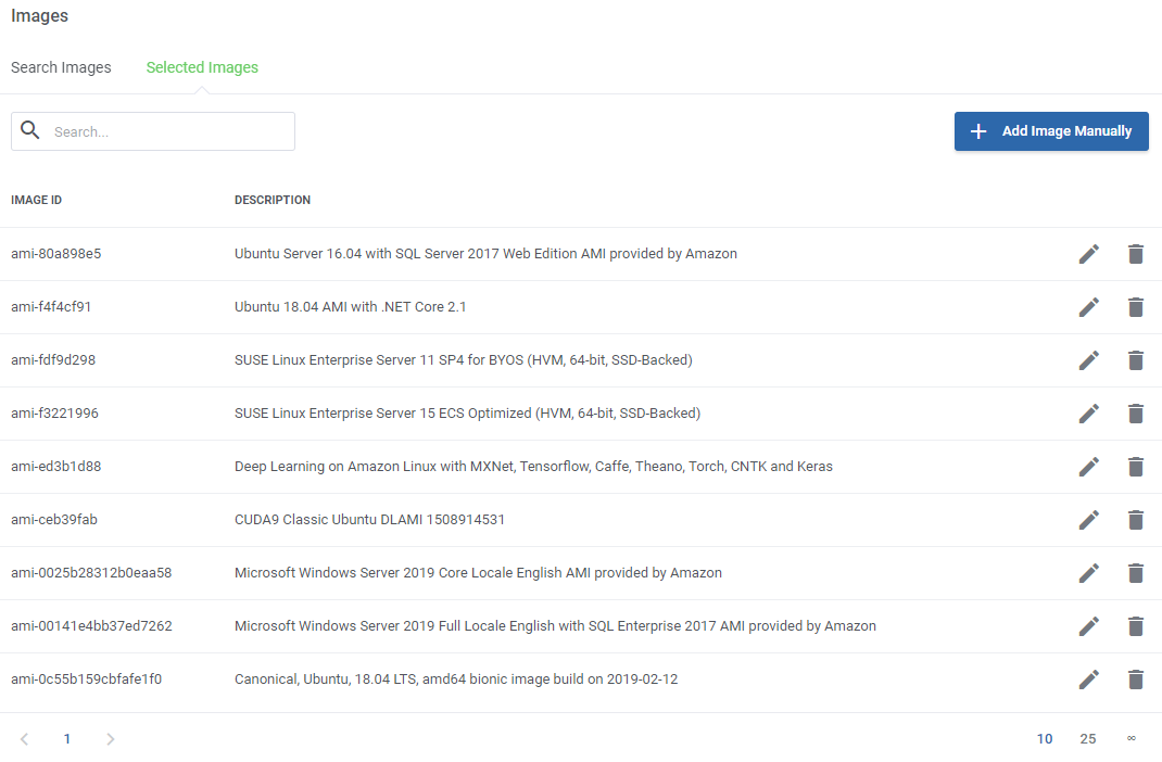 Amazon EC2 For WHMCS: Module Screenshot 5