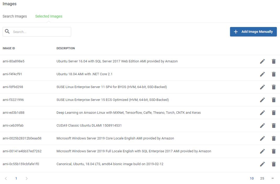 Amazon EC2 For WHMCS: Module Screenshot 6