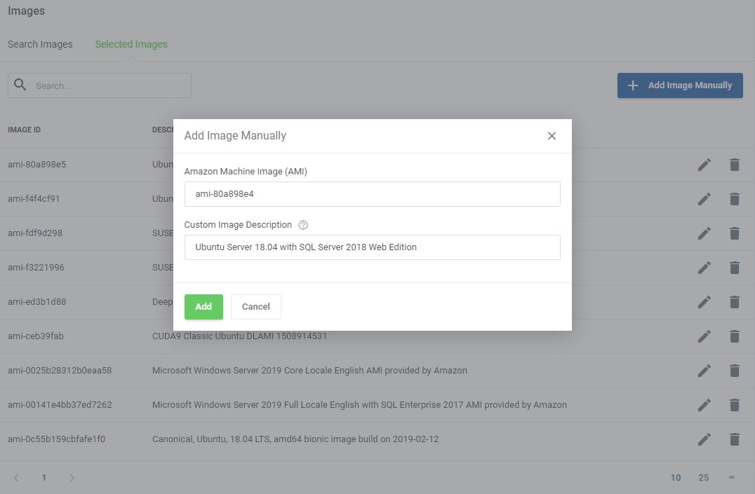Amazon EC2 For WHMCS: Module Screenshot 7