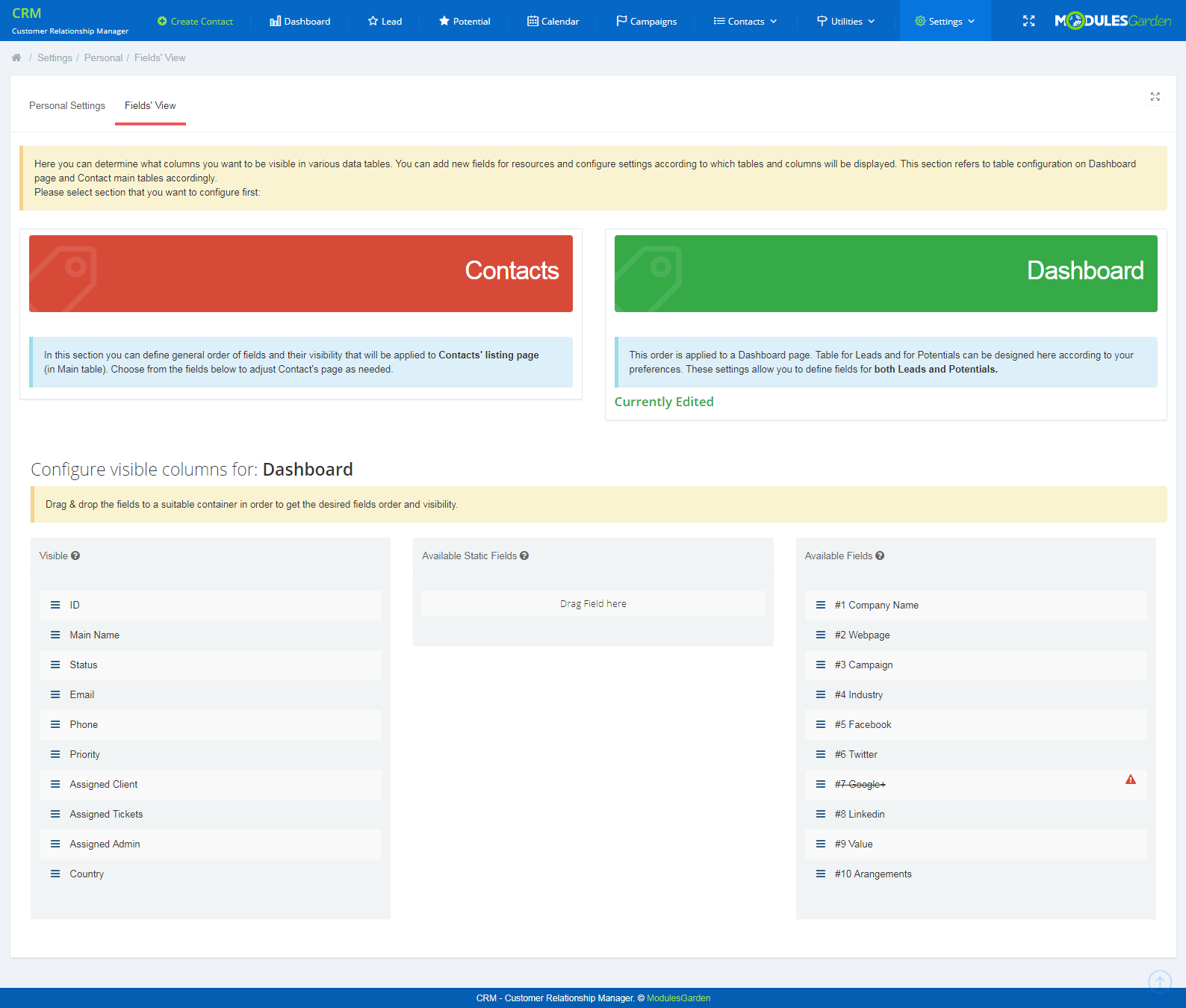 CRM For WHMCS: Screen 15