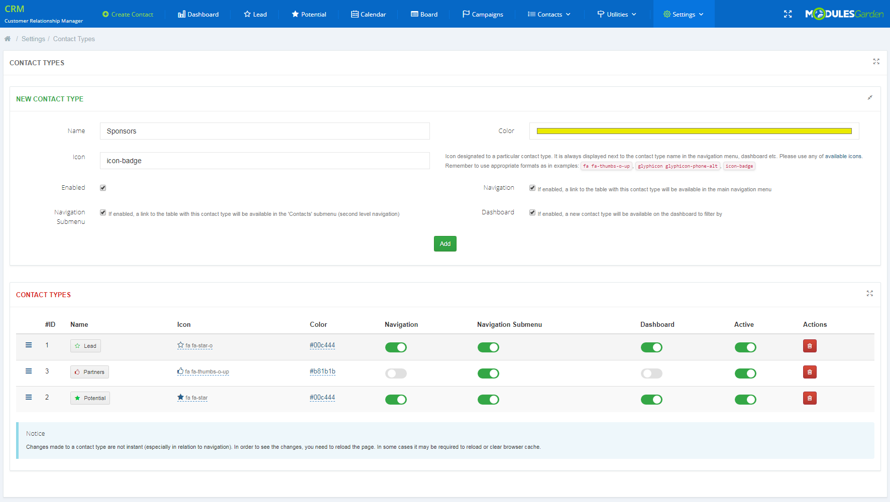 CRM For WHMCS: Screen 24