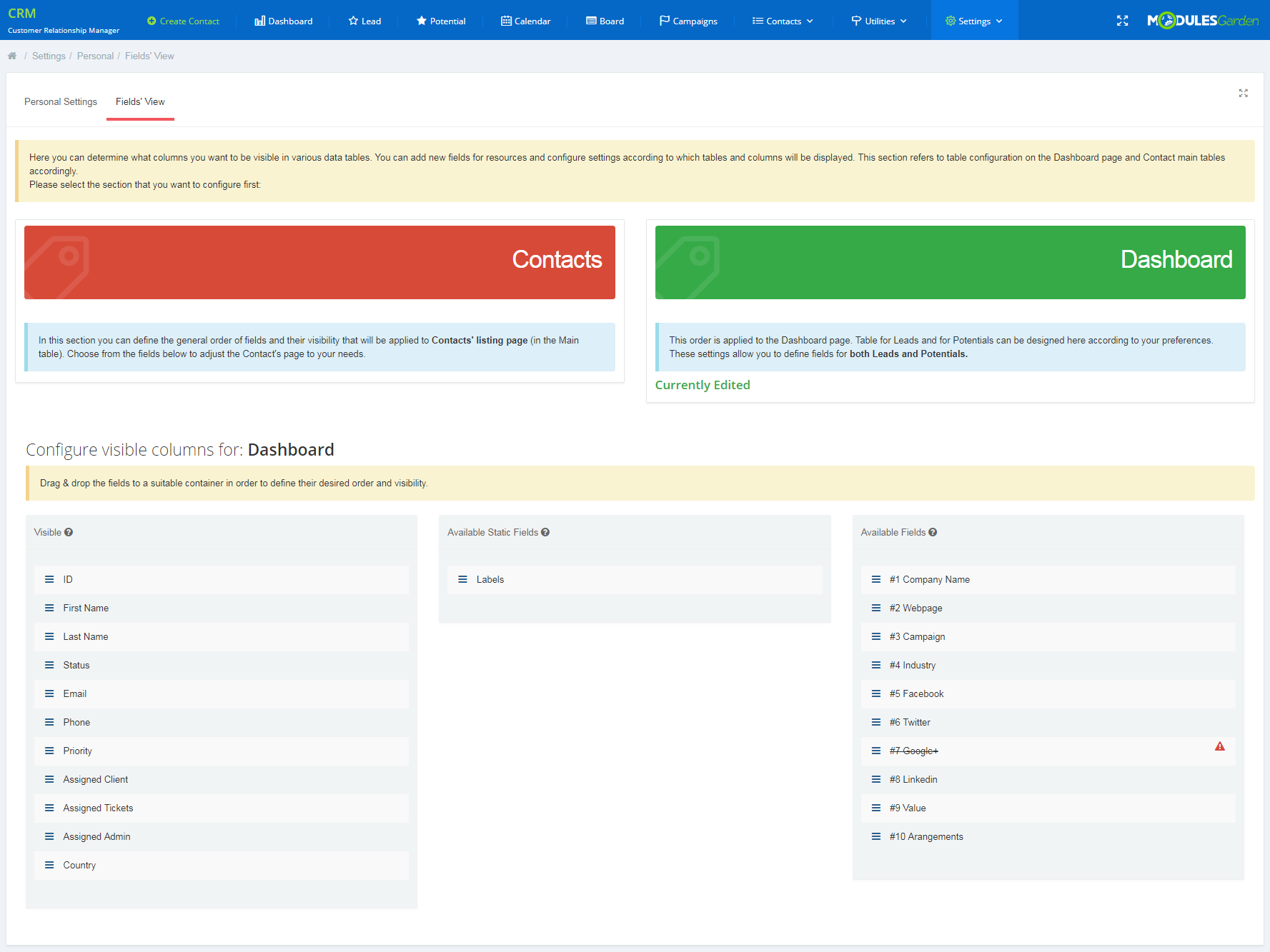 CRM For WHMCS: Module Screenshot 19