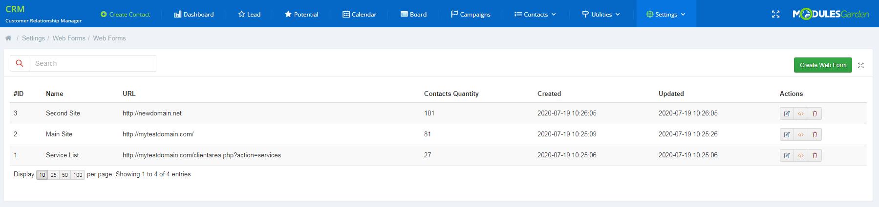 CRM For WHMCS: Module Screenshot 27