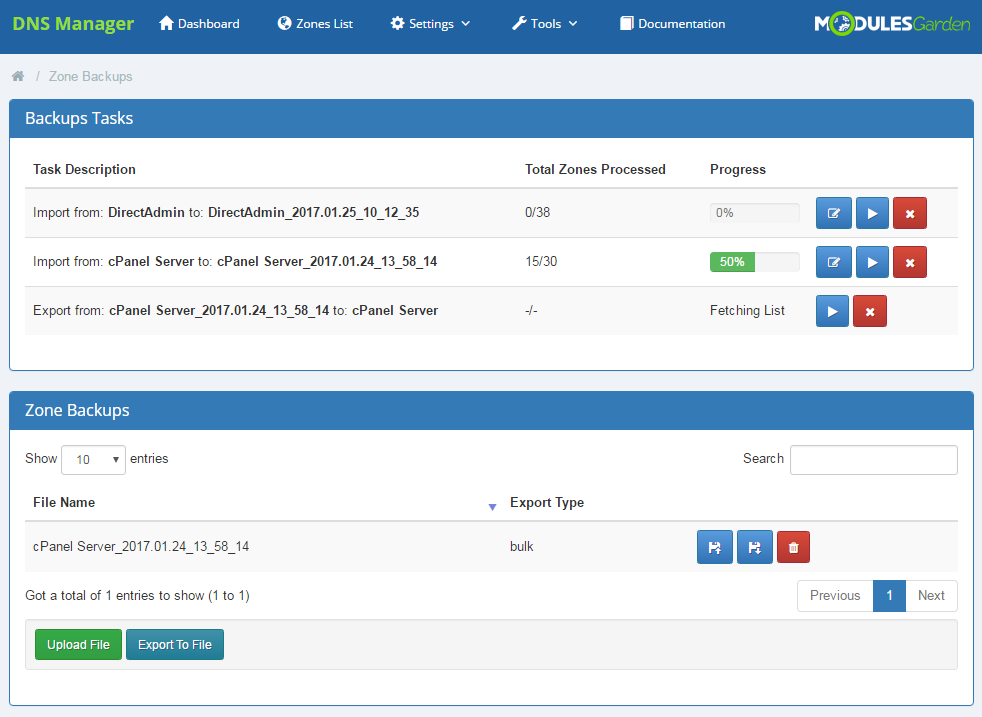DNS Manager For WHMCS: Screen 24