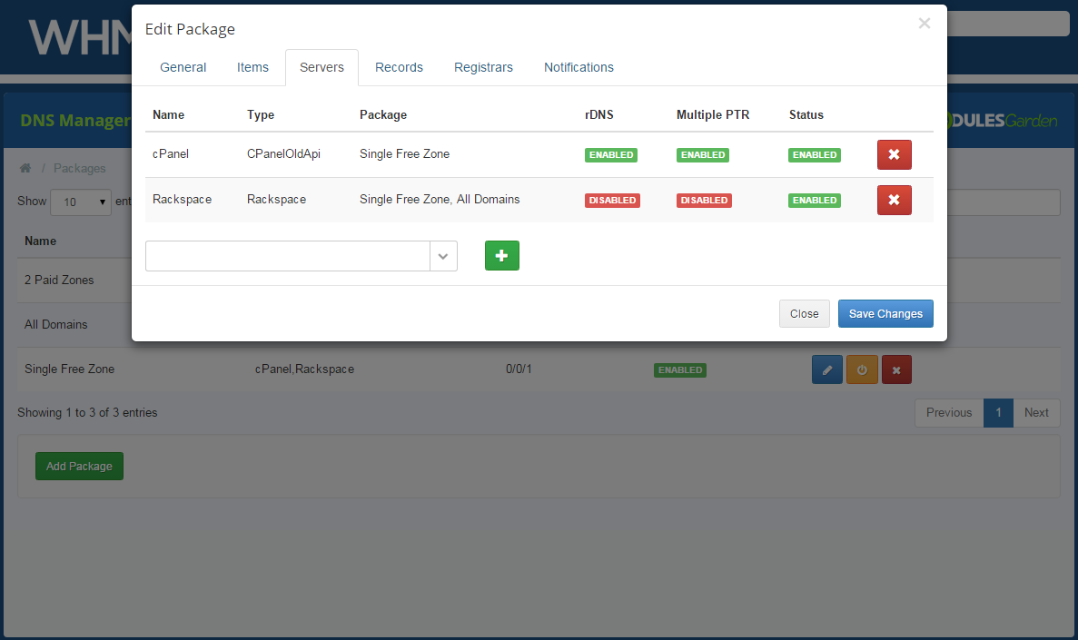 DNS Manager For WHMCS: Screen 18