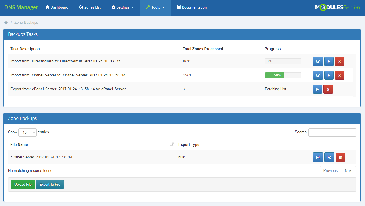 DNS Manager For WHMCS: Screen 30