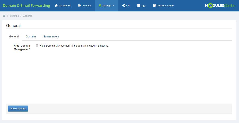 Domain & Email Forwarding For WHMCS: Module Screenshot 4
