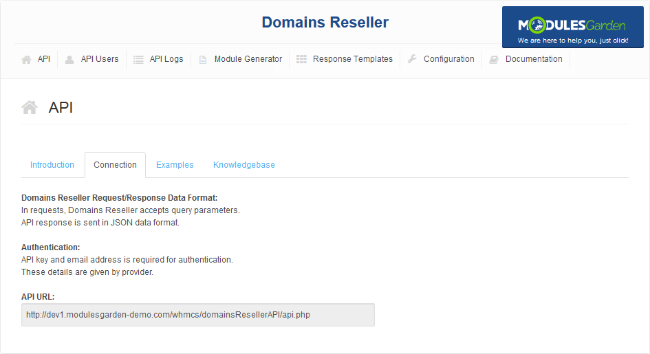 Domains Reseller For WHMCS: Screen 12
