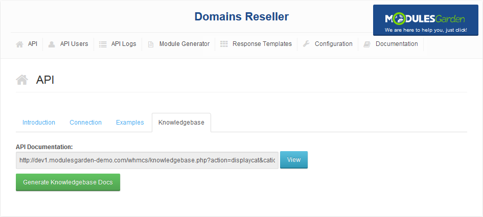 Domains Reseller For WHMCS: Screen 14