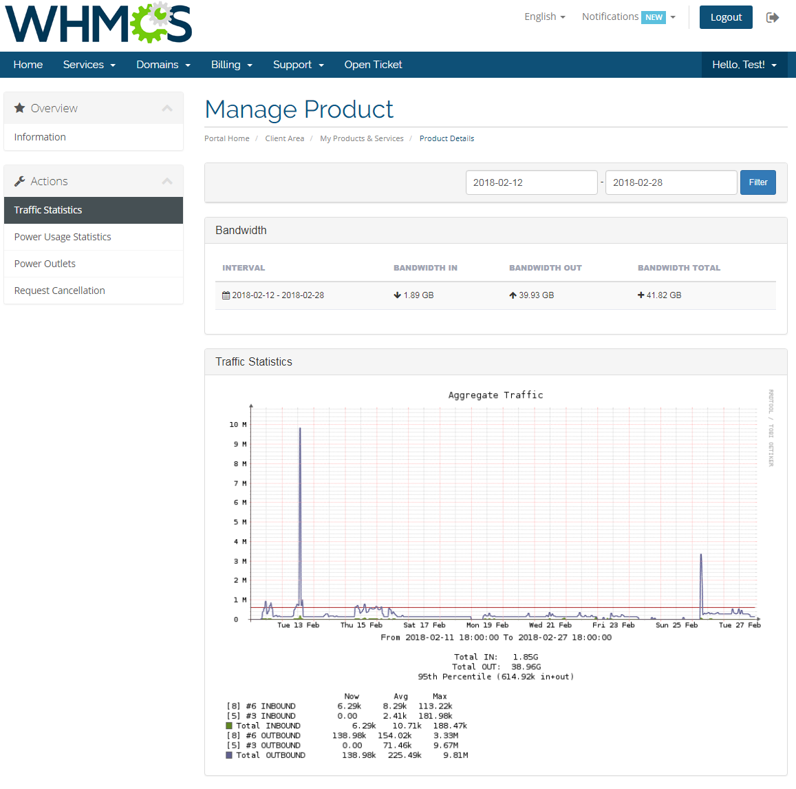 EasyDCIM Colocation For WHMCS: Screen 2
