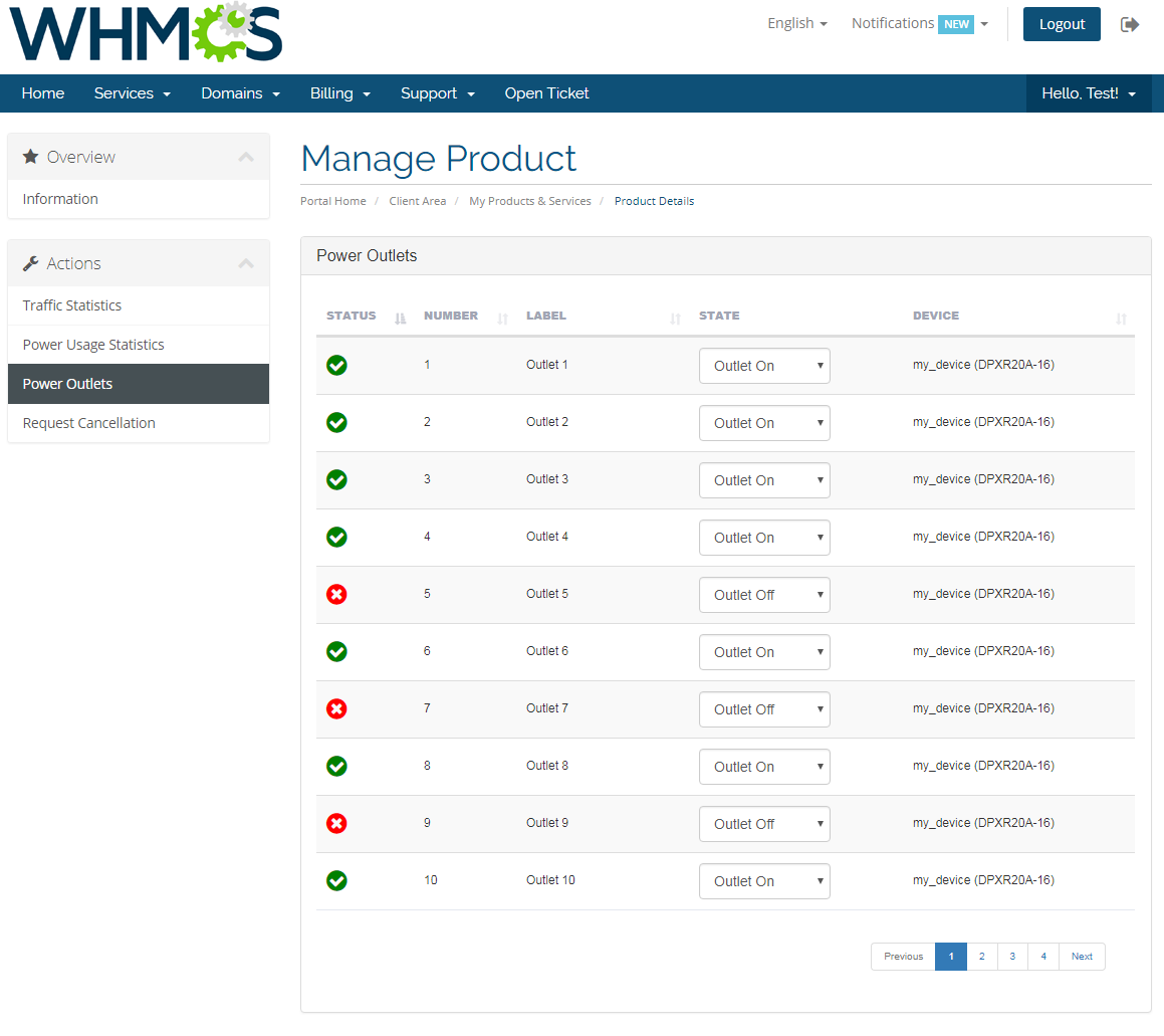 EasyDCIM Colocation For WHMCS: Screen 4