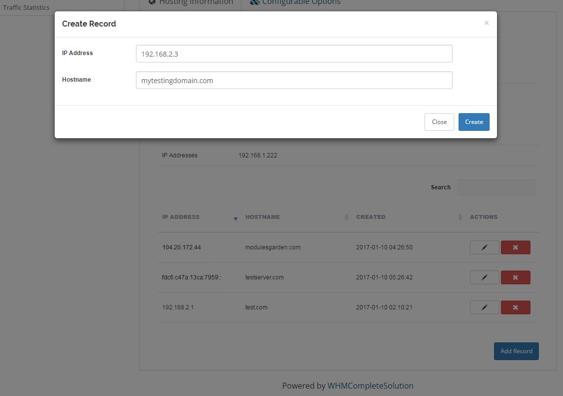 EasyDCIM Dedicated Servers For WHMCS: Module Screenshot 6
