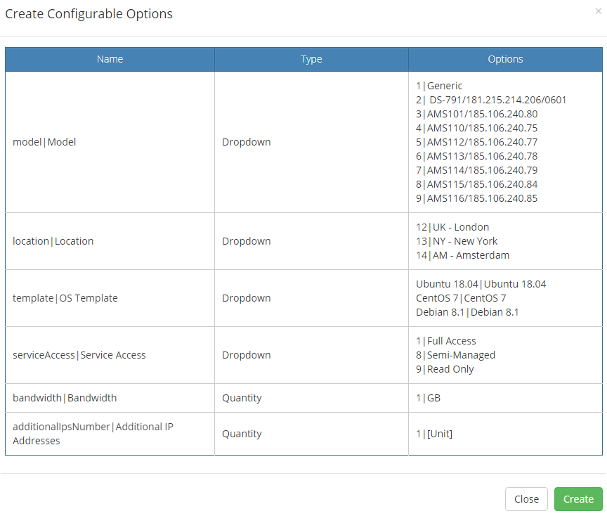 EasyDCIM Dedicated Servers For WHMCS: Module Screenshot 17