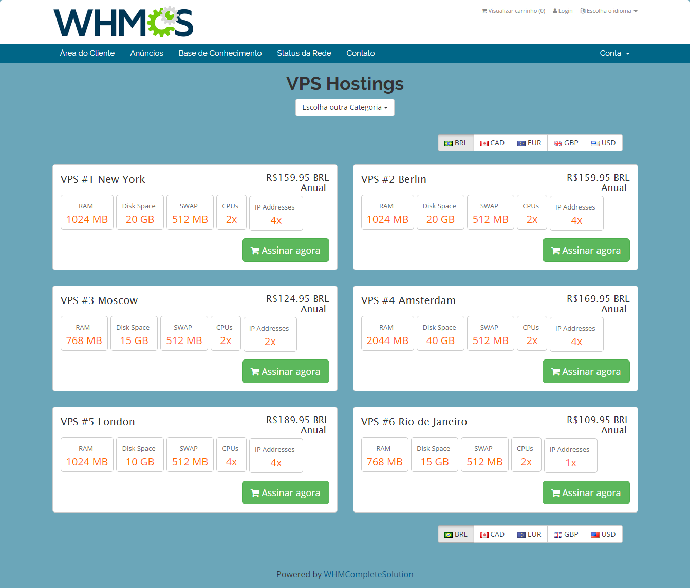Geolocation Hook For WHMCS: Screen 4
