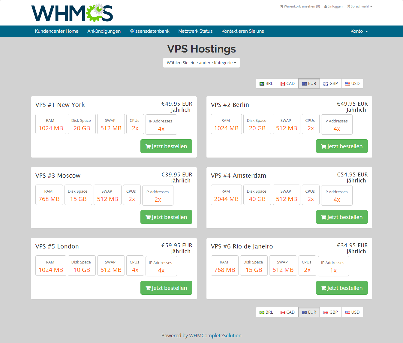 Geolocation Hook For WHMCS: Screen 5