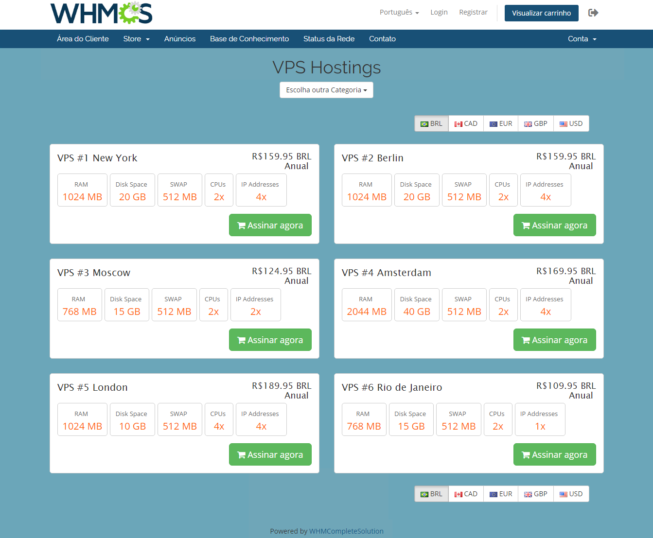 Geolocation Hook For WHMCS: Module Screenshot 5