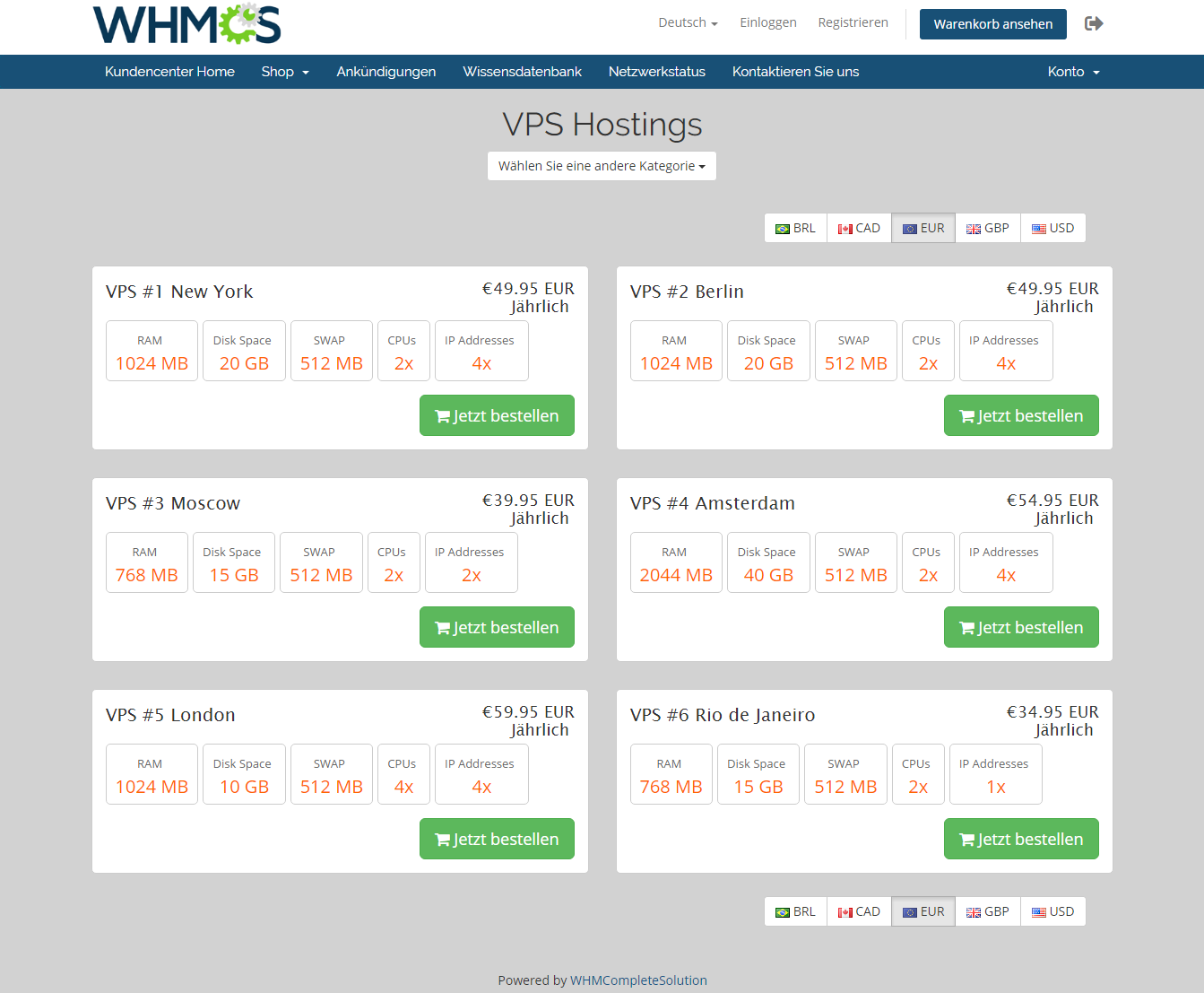 Geolocation Hook For WHMCS: Module Screenshot 6