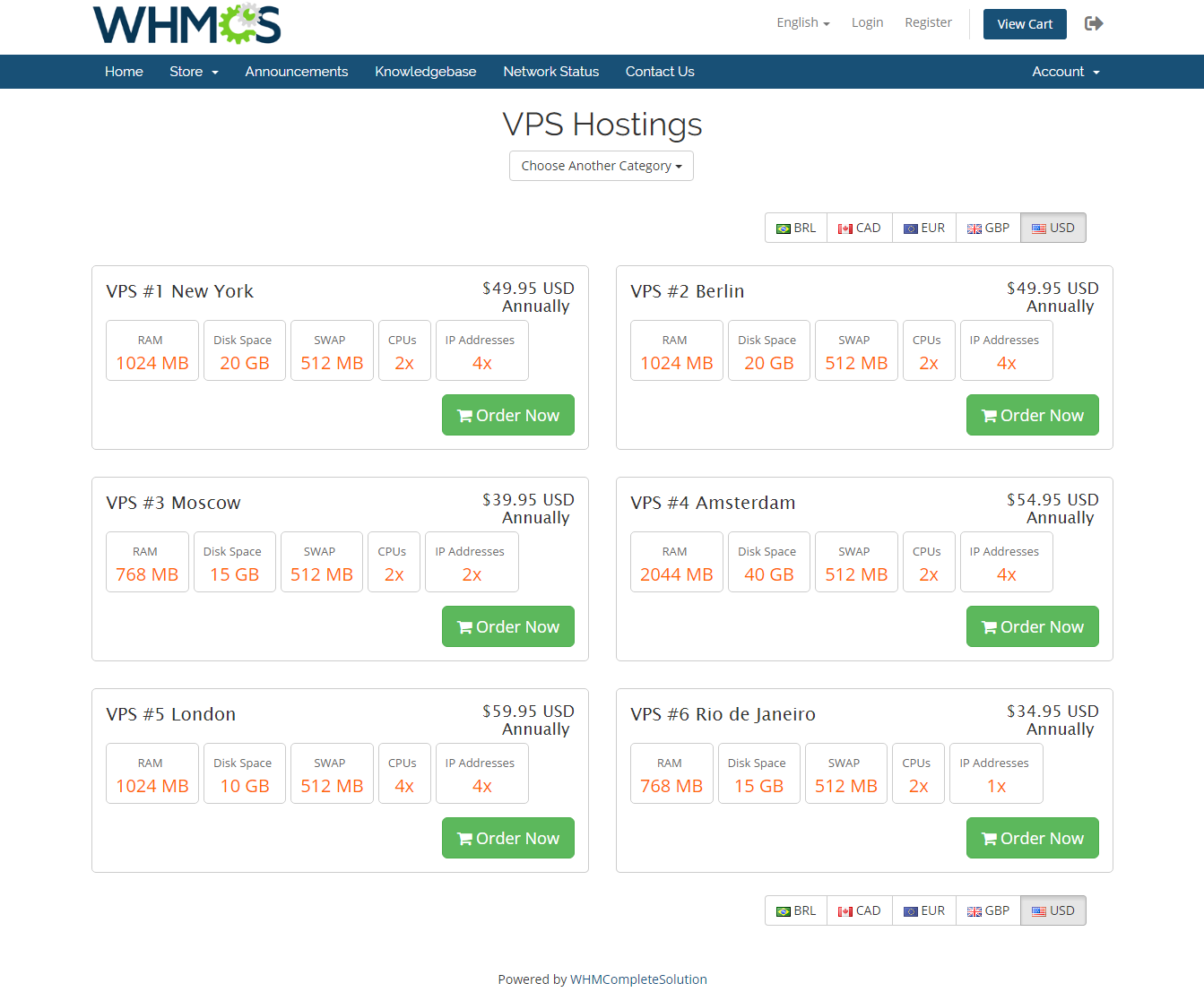 Geolocation Hook For WHMCS: Module Screenshot 7