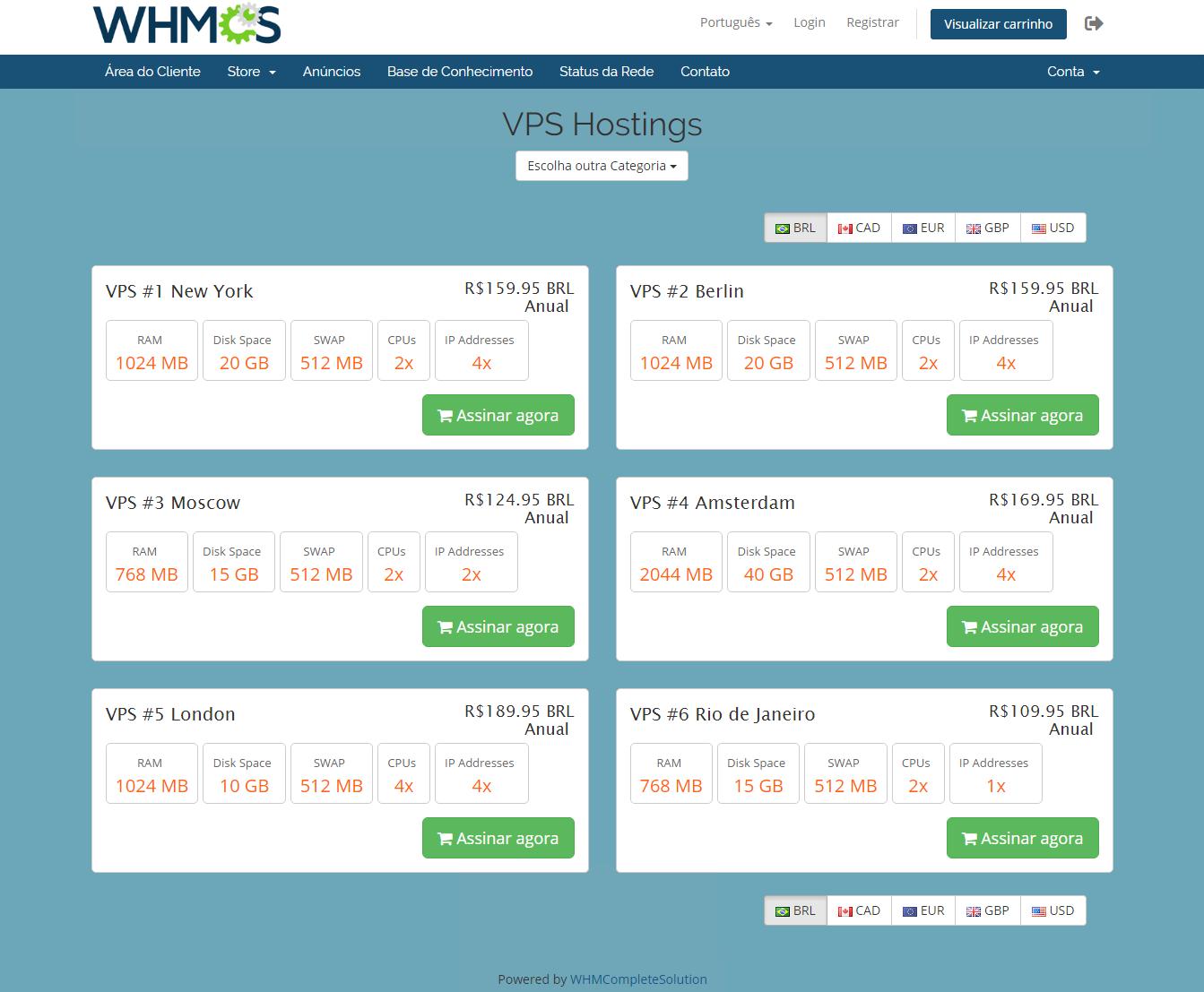 Geolocation Hook For WHMCS: Module Screenshot 5