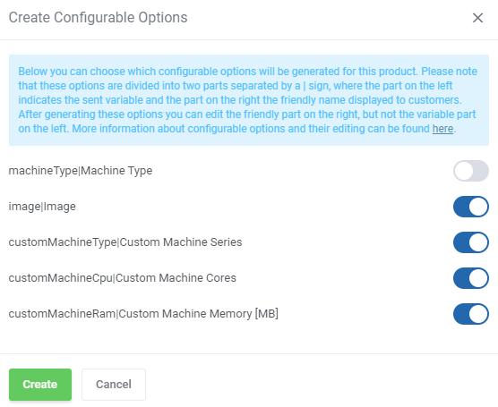 Google Cloud Virtual Machines For WHMCS: Module Screenshot 7