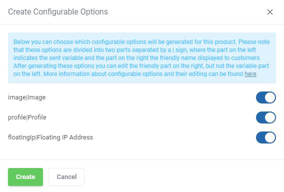 IBM Cloud Virtual Servers For WHMCS: Module Screenshot 5