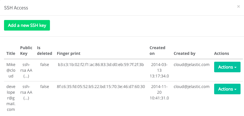 Jelastic PaaS For WHMCS: Screen 4