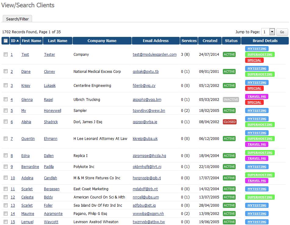 Multibrand For WHMCS: Screen 11