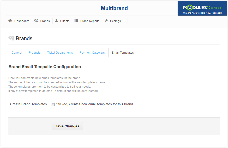Multibrand For WHMCS: Screen 7