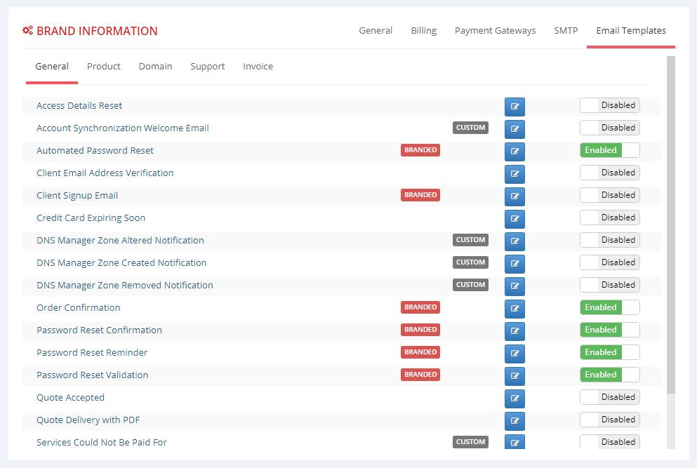 Multibrand For WHMCS: Screen 6
