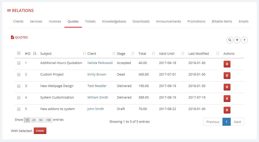 Multibrand For WHMCS: Module Screenshot 14