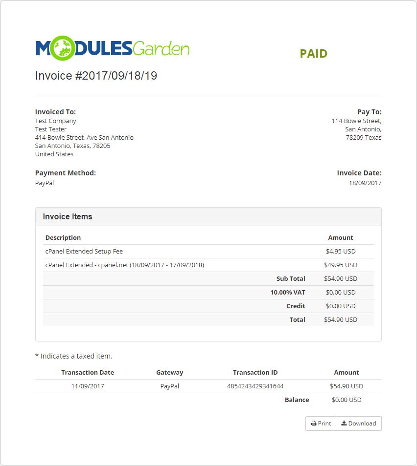 Multibrand For WHMCS: Module Screenshot 31