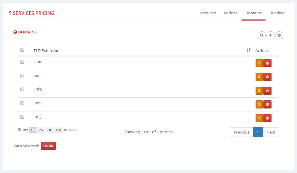 Multibrand For WHMCS: Module Screenshot 8
