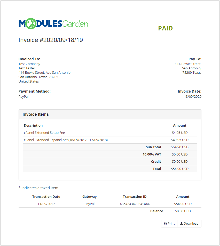 Multibrand For WHMCS: Module Screenshot 31