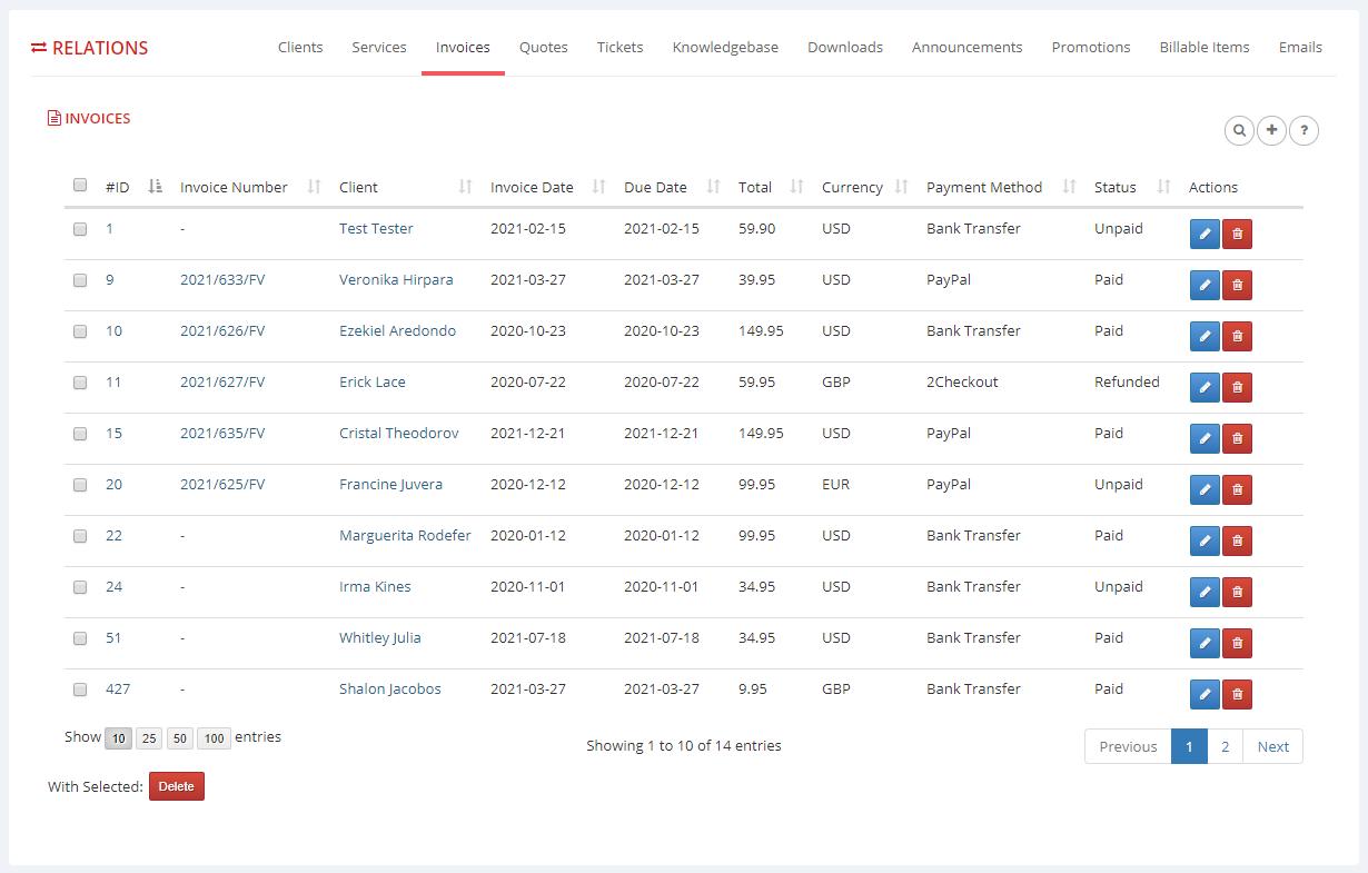 Multibrand For WHMCS: Module Screenshot 13