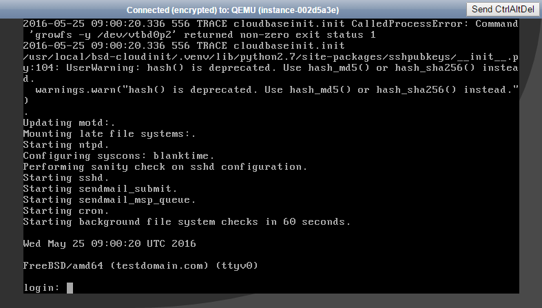 OVH Public Cloud For WHMCS: Screen 4