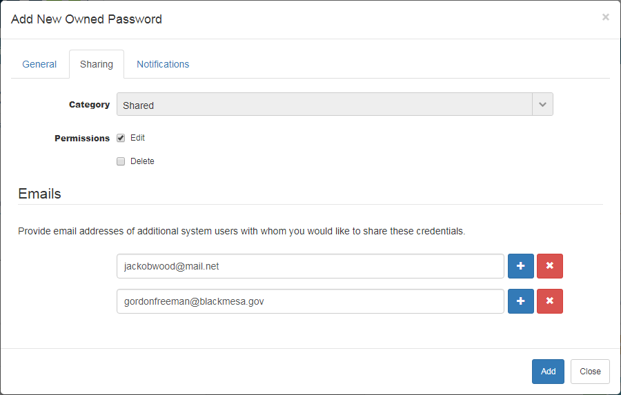 Password Manager For WHMCS: Screen 3