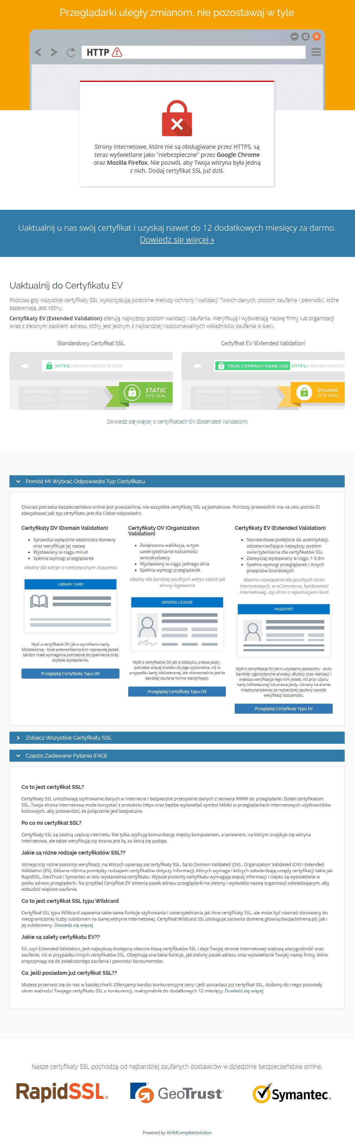 Polish Language Translation For WHMCS: Module Screenshot 16