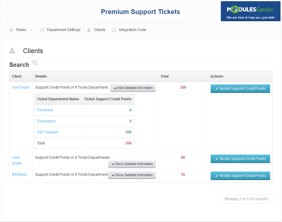Premium Support Tickets For WHMCS: Screen 6