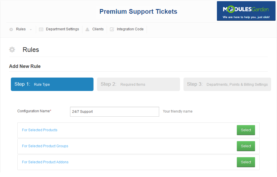 Premium Support Tickets For WHMCS: Screen 8