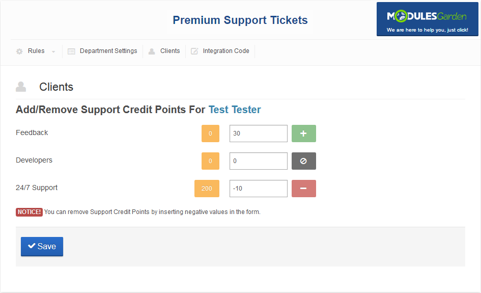 Premium Support Tickets For WHMCS: Screen 7